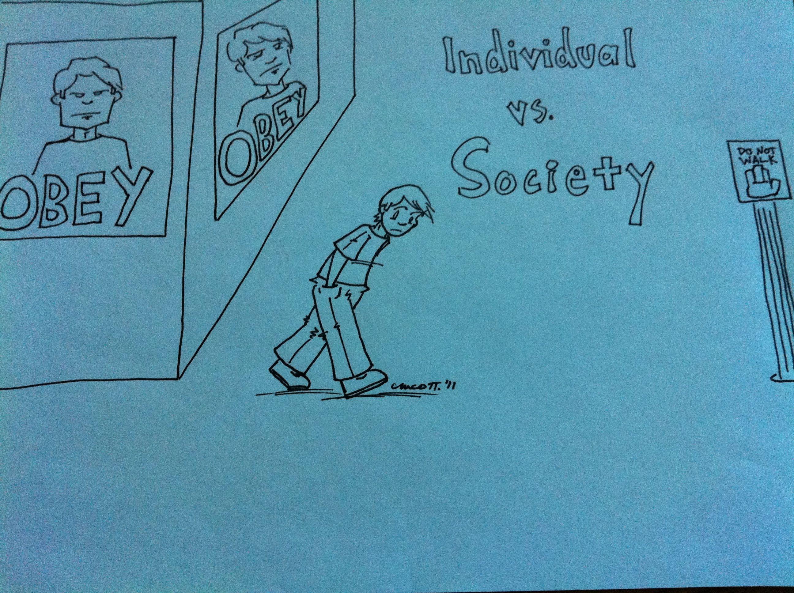 Individual vs society essay