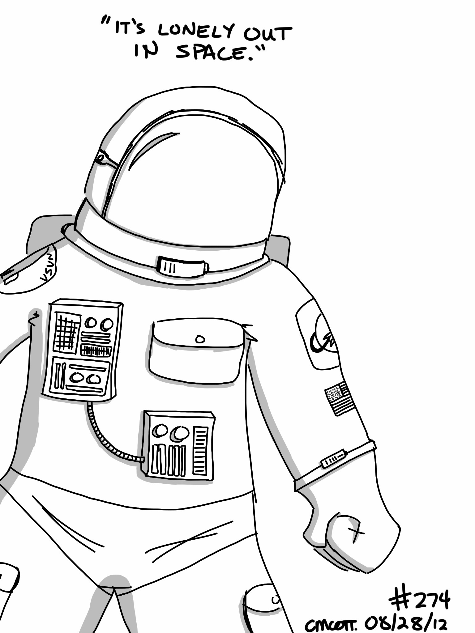 space suit drawing - photo #19